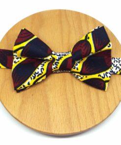 noeud papillon wax graine jaune rouge bordeaux blanc et noir