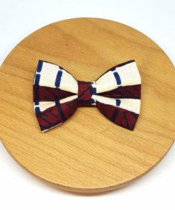 pince à noeud barrette wax pagne rouge bordeaux bleu marine blanc