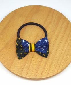 élastique noeud wax jaune vert bleu