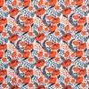 tissu-en-coton-imprime-fleur-hellebore-orange