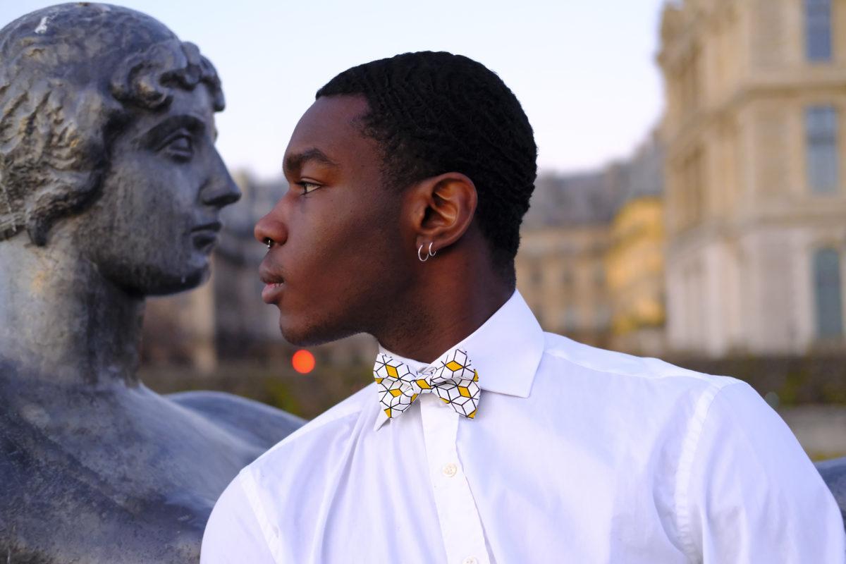 Création d'accessoires pour homme originaux et colorés